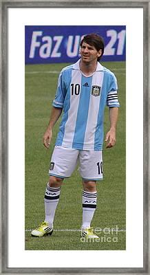 Lionel Andres Messi Framed Print