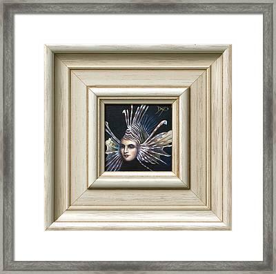 Lionessfish Framed Print