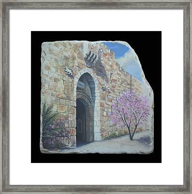 Lions Gate Framed Print