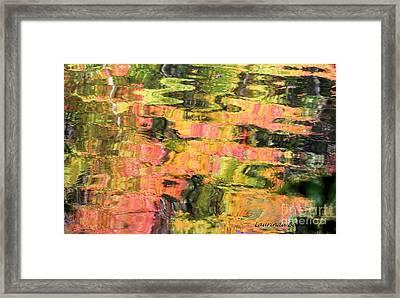 Liquid Colors Framed Print