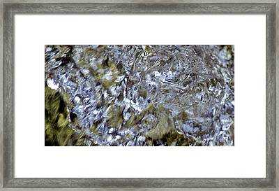 Liquid Crystals Framed Print