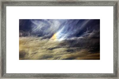 Framed Print featuring the photograph Liquid Sky by Sandro Rossi