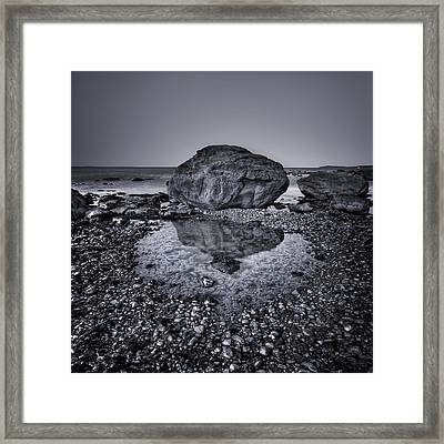 Liquid State Framed Print by Evelina Kremsdorf