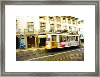 Lisboa Framed Print by Andre Poling