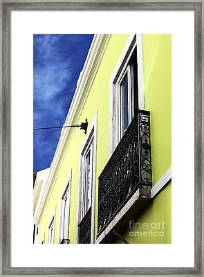 Lisboa Colors Framed Print by John Rizzuto