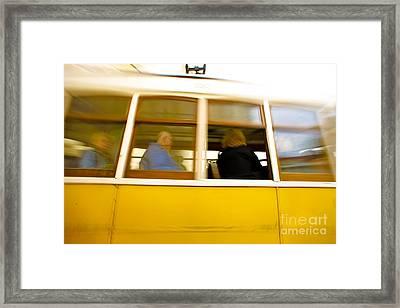 Lisbon Framed Print by Andre Poling
