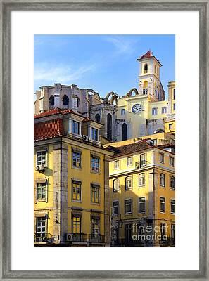 Lisbon Buildings Framed Print by Carlos Caetano