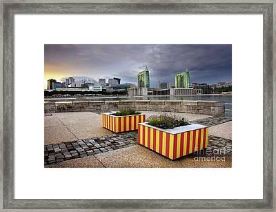 Lisbon Expo Framed Print