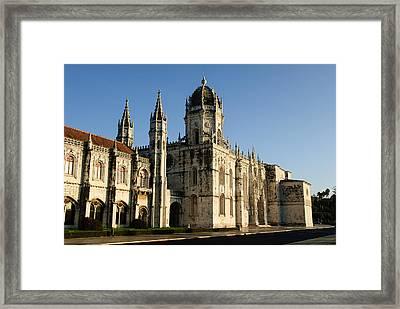 Lisbon, Portugal - Monasterio De Los Jerónimos De Framed Print