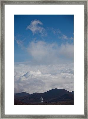 Listen To The Universe Framed Print