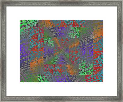 Listen To What I Have To Say Framed Print
