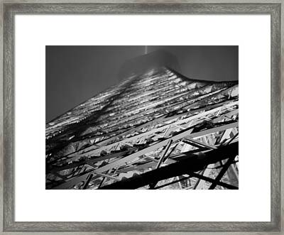 Lit And Looming Framed Print by Humberto Laviera