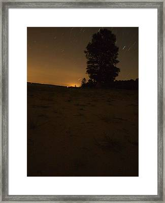 Lit By The Stars Framed Print by Joshua House