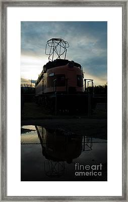 Littel Joe Reflections Framed Print by Tim Mulina