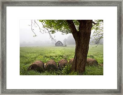 Little Barn Framed Print