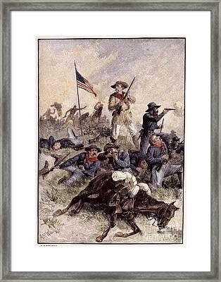 Little Bighorn, 1876 Framed Print by Granger