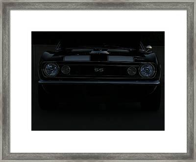 Little Black Camaro Framed Print