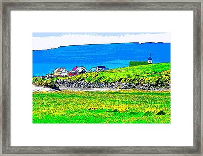 Little Boxes Framed Print by Jakup Reinert Hansen