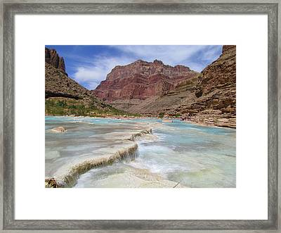 Little Colorado Terraces Framed Print