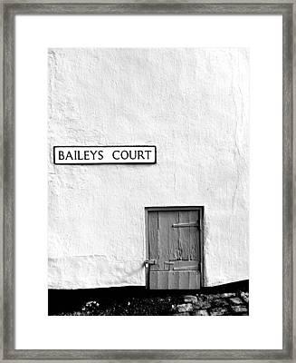 Little Door Framed Print by Jason Michael Roust