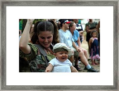 Little Doughboy Framed Print by Teresa Blanton