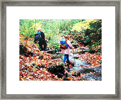 Little Explorers 1 Framed Print
