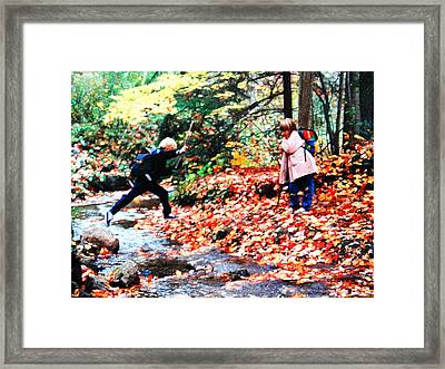 Little Explorers 2 Framed Print