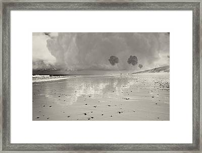 Little Fluffy Clouds Framed Print by Dapixara Art