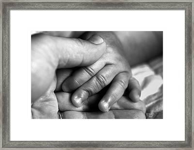 Little Hand Framed Print by John Rush
