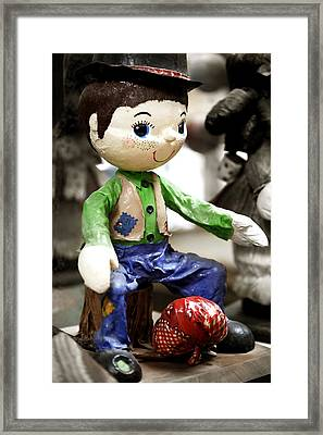 Little Hobo Framed Print by Marilyn Hunt