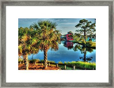 Little Lagoon Bayou Framed Print