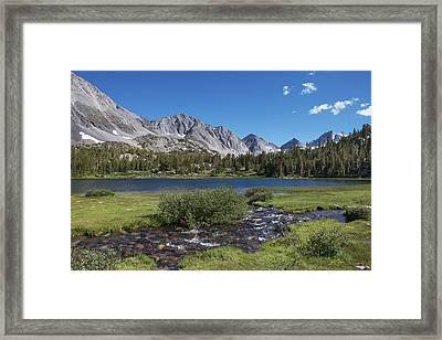 Little Lakes Valley Framed Print
