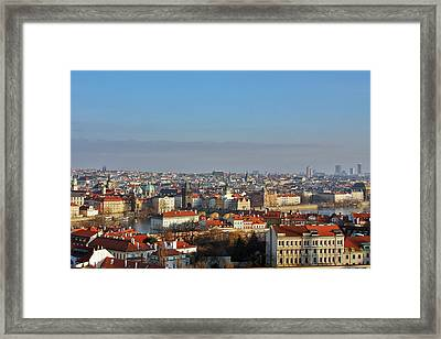 Little Mother Prague Framed Print by Christine Till