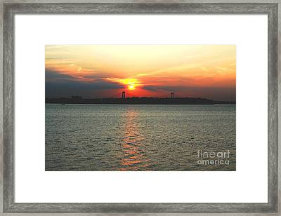 Little Neck Bay From Douglaston Manor  Framed Print