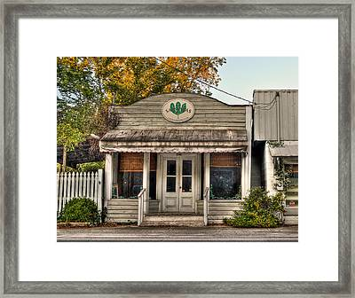 Little Old Shop Framed Print