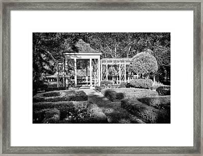 Little Park In Philadelphia 2 Framed Print by Val Black Russian Tourchin