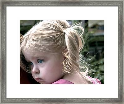 Little Posy Framed Print