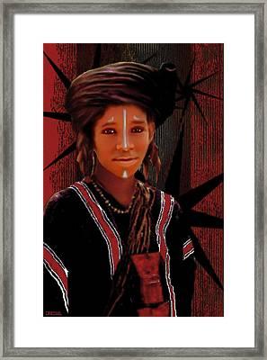 Little Prince Framed Print