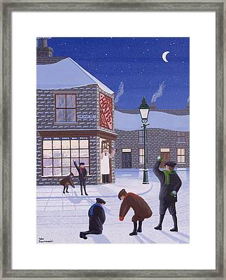 Little Rascals Framed Print by Peter Szumowski