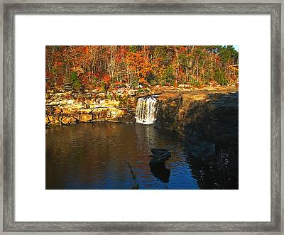 Little River Canyon 6412 Framed Print by J D  Whaley