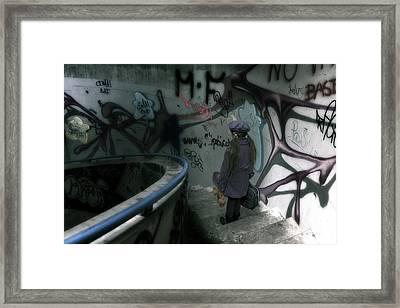 Little Runaway Framed Print by Joana Kruse