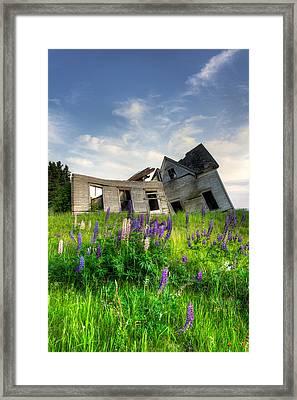 Little Sands Farm House Framed Print by Matt Dobson