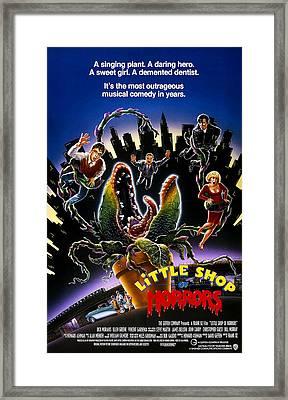 Little Shop Of Horrors, Rick Moranis Framed Print by Everett