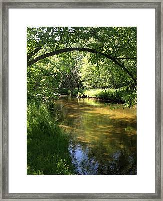Little South Arch Framed Print