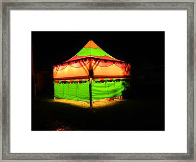 Little Top Framed Print by Dennis Leatherman