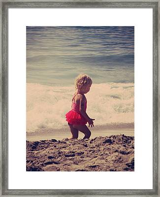 Little Tutu Framed Print by Laurie Search
