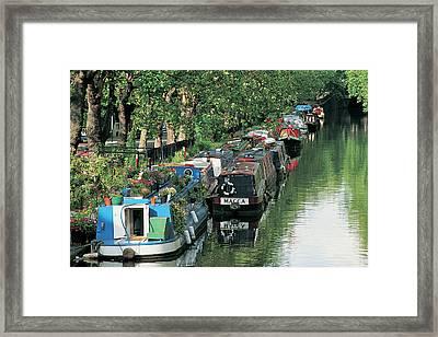 Little Venice, London, England Framed Print by Keith Mcgregor