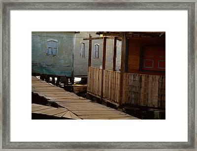 Little Venice Maracaibo Venezuela Framed Print by Carlos Diaz