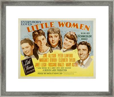 Little Women, Margaret Obrien, Janet Framed Print