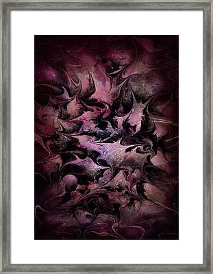 Little World Framed Print by Rachel Christine Nowicki